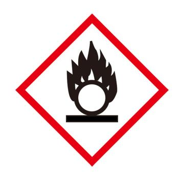 安赛瑞 GHS标签-氧化物,高性能不干胶,50×50mm,39637,50片/包