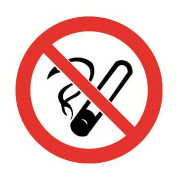 安赛瑞 GB安全警示标签-禁止吸烟,Ф50mm ,32600,10片/包