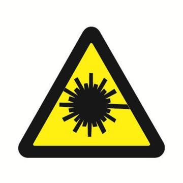 安赛瑞 GB安全警示标签-当心激光,边长50mm ,32627,10片/包