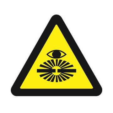 安赛瑞 GB安全警示标签-当心弧光,边长50mm ,32628,10片/包