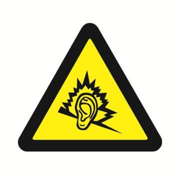 安赛瑞 GB安全警示标签-噪声有害,边长50mm ,32631,10片/包