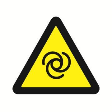 安赛瑞 GB安全警示标签-当心自动启动,边长100mm ,32822,10片/包
