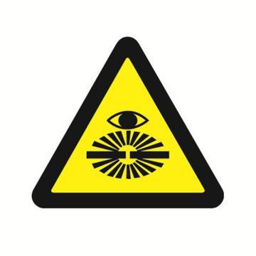 安赛瑞 GB安全警示标签-当心弧光,边长100mm ,32828,10片/包