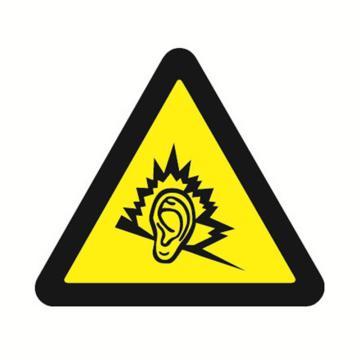 安赛瑞 GB安全警示标签-噪声有害,边长100mm ,32831,10片/包