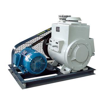 谭氏 真空泵,旋片式,2X-100A,三相,抽气速度:100L/S,转速:360rpm