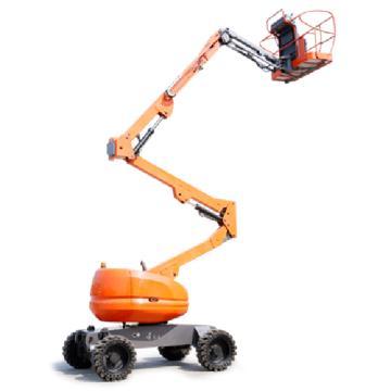 鼎力 自行走曲臂式高空作业平台,工作载荷(kg):230 工作高度(m):18 电池驱动,GTBZ18AE