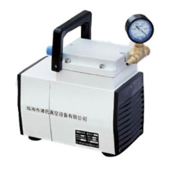 谭氏 无油隔膜真空泵,GM-0.5,负压,抽气速度:30L/S,外形尺寸:250x135x210mm
