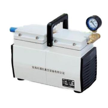 谭氏 无油隔膜真空泵,GM-0.5B,高真空,抽气速度:30L/S,外形尺寸:315x135x210mm