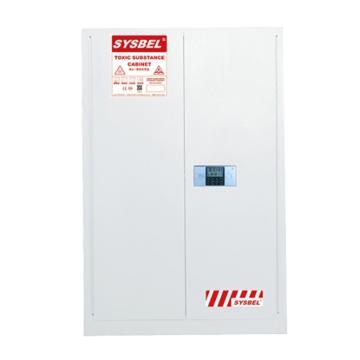 西斯贝尔SYSBEL 密码锁毒品柜,GA认证,45加仑/170升,双门/手动,不含接地线,WA810452W