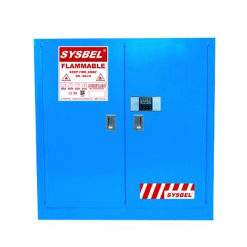 西斯贝尔SYSBEL 密码锁废液储存柜,GA认证,30加仑/114升,双门/手动,不含接地线,WA810303