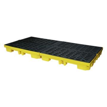 西斯貝爾SYSBEL 聚乙烯拼接式盛漏平臺,適用于叉車,1280×640×200mm,SPP101-2