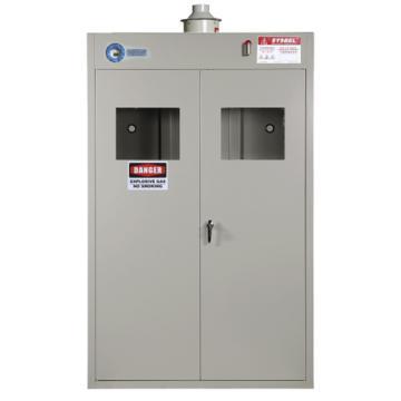 西斯貝爾SYSBEL 三瓶型Ex智能整柜防爆氣瓶柜,雙門/手動,含聲光報警,WA730103
