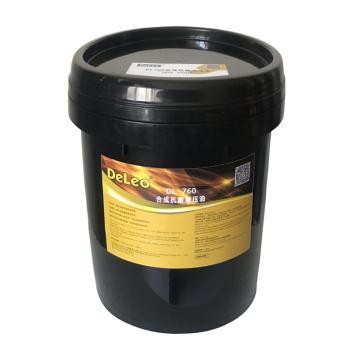 德雷奥 合成抗磨液压油,DL760,68#,20L/桶