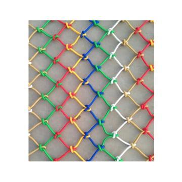 尼龙绳网,宽1.2m,Φ8mm,网孔300mm×300mm(颜色随机)
