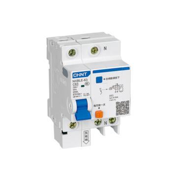 正泰CHINT 微型剩余电流保护断路器 NXBLG-63 2P 32A C型 30mA AC 带过压