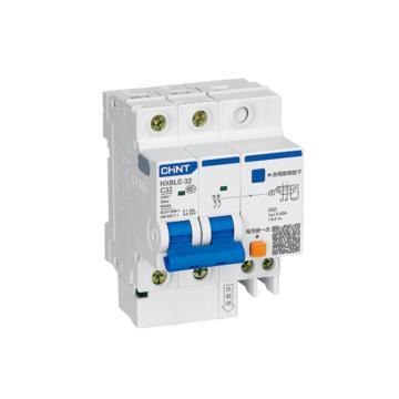正泰CHINT 微型剩余电流保护断路器 NXBLG-32 2P 20A C型 30mA AC 带过压