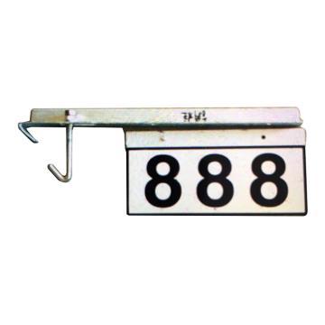 8113820 号码牌-钢柱通用,180*360mm,2mm厚铝板覆进口反光膜(含配件)