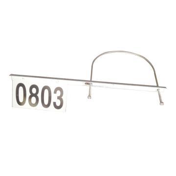 8113820 号码牌-圆杆,180*360mm,2mm厚铝板覆进口反光膜(含配件)