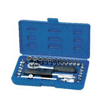 雷诺 29件套6.3mm系列公制组套,29PC,120029