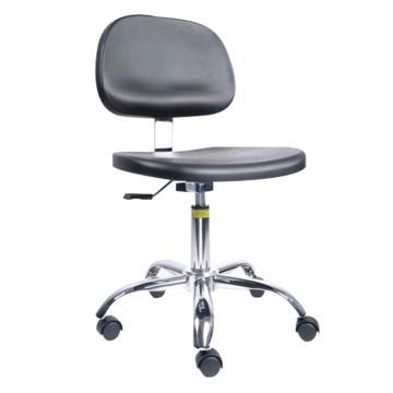佰斯特 防静电大底座聚氨酯工作椅,425-545mm 弹簧钢 防静电轮 椅面不带防滑花纹(不含安装),Y-4A