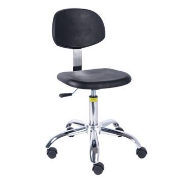 佰斯特 防静电聚氨酯工作椅,415-535mm 弹簧钢 防静电轮 椅面不带防滑花纹(不含安装),Y-5A