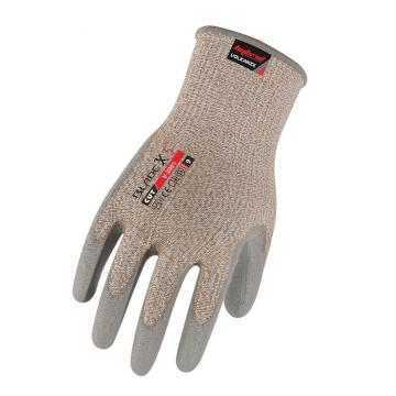赛立特 V-2001-9,针织罗口PU涂层5级防切割手套
