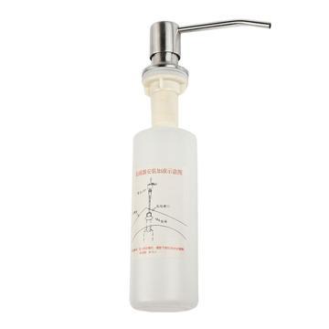 卡贝皂液器,不锈钢泵头+ABS主体+塑料瓶250ml