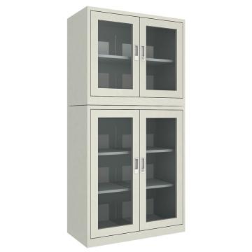 佰斯特 防靜電工具柜,(上玻璃雙開門 下玻璃雙開門柜)900*440*1800 鋼板厚(mm):0.8,CH-19-08E