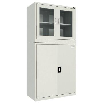 佰斯特 防静电工具柜,(上玻璃双开门内柜 下钢制双开门)900*440*1800 钢板厚(mm):0.8,CH-9-08E