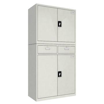 佰斯特 防静电工具柜,(上钢制双开门柜 下两抽双开门柜)900*440*1800 钢板厚(mm):0.8,CH-7-08E