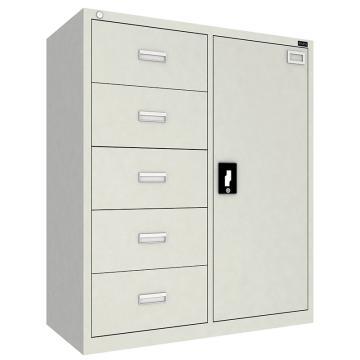 佰斯特 防静电工具柜,(左五抽单开门柜)900*440*1064 钢板厚(mm):0.8,CH-1-08E