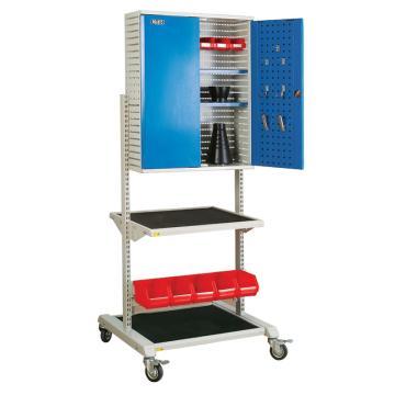 佰斯特 防静电多功能推车支撑,780×750×1600(含挂柜 不含料盒、挂钩),TB-13E-780