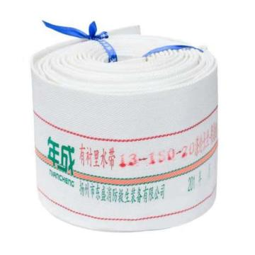 年成 聚氨酯衬里轻型水带,口径150mm,工作压力1.3,长度20米(不含接口)