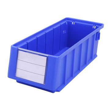 Raxwell 分隔式零件盒 物料盒,外尺寸规格D*W*H(mm):300×117×90,全新料,蓝色,单位:个