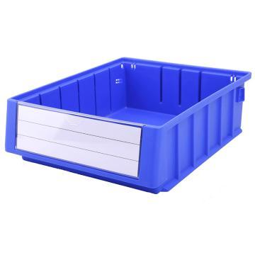 Raxwell 分隔式零件盒 物料盒,外尺寸规格D*W*H(mm):300×235×90,全新料,蓝色,单位:个
