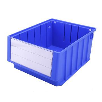 Raxwell 分隔式零件盒 物料盒,外尺寸规格D*W*H(mm):300×235×140,全新料,蓝色,单位:个