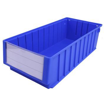 西域推荐 分隔式零件盒 物料盒,外尺寸规格D*W*H(mm):500×235×140,全新料,蓝色,8个/箱