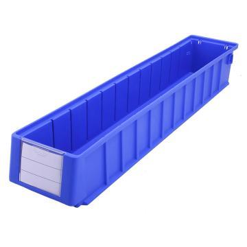 Raxwell 分隔式零件盒 物料盒,外尺寸规格D*W*H(mm):600×117×90,全新料,蓝色,单位:个