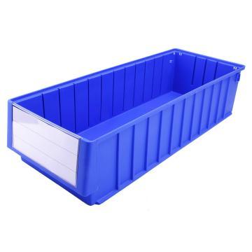 西域推荐 分隔式零件盒 物料盒,外尺寸规格D*W*H(mm):600×235×140,全新料,蓝色,8个/箱