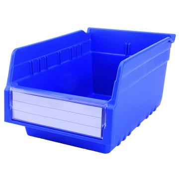 西域推荐 精益零件盒 物料盒,外尺寸规格D*W*H(mm):300×200×150,全新料,蓝色,30个/箱