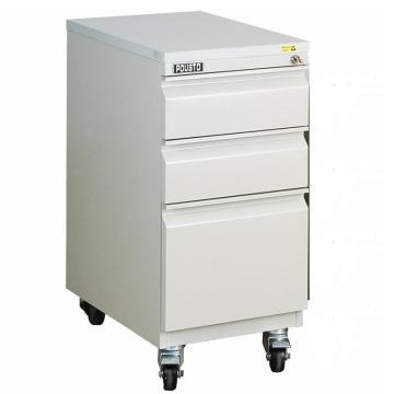 佰斯特 加高型移动式B柜,灰边 承重型防静电轮372*585*815(含2抽屉间隔板),B-306