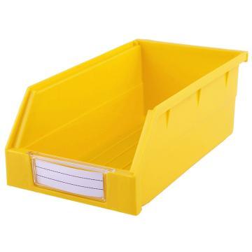 西域推荐 背挂零件盒 物料盒,外尺寸规格D*W*H(mm):190×105×75,全新料,黄色,24个/箱