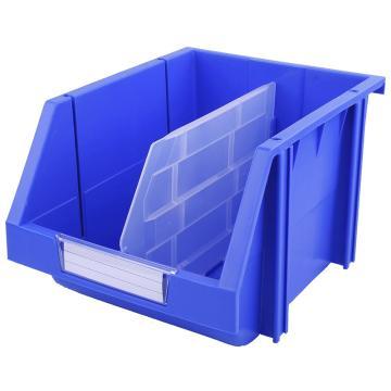 西域推荐 组立背挂零件盒 物料盒,外尺寸规格D*W*H(mm):280×214×175,全新料,蓝色,16个/箱