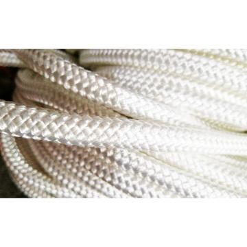 西域推荐 纤维绳编织绳安全绳,直径:10mm,白色