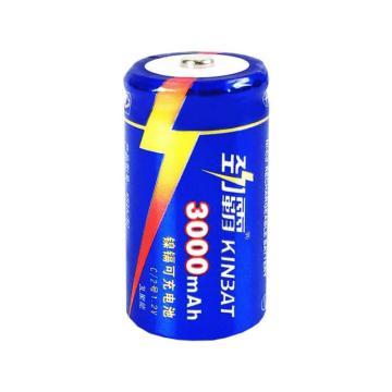 劲霸 2号充电电池,2号C型充电电池 3000毫安