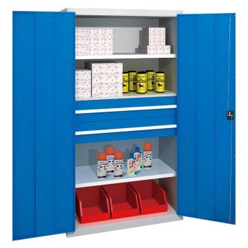 佰斯特 防静电承重型工具柜,(含抽屉 不含料盒)1000*600*1800 钢板厚(mm):1.2 铝合金拉手,C-8-12H