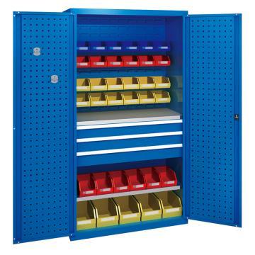 佰斯特 防静电承重型工具柜,(不含料盒)1000*600*1800 钢板厚(mm):1.2 铝合金拉手,C-7-12H