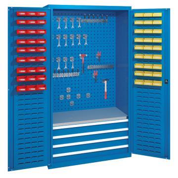 佰斯特 防静电承重型工具柜,(不含挂钩/料盒)1000*600*1800 钢板厚(mm):1.2 铝合金拉手,C-6-12H