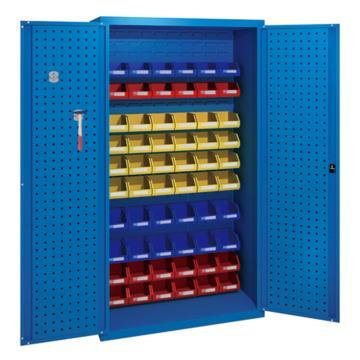 佰斯特 防静电承重型工具柜,(背板带百叶孔 不含料盒)1000*600*1800 钢板厚(mm):1.2,C-1-12H