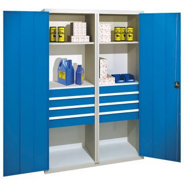 佰斯特 防静电承重型工具柜,(含抽屉/层板)1200*600*1800 钢板厚(mm):1.2 铝合金拉手,C-5-12H